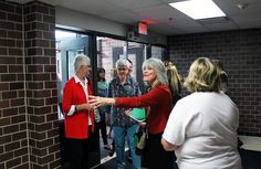 Tuesday was a chance for community members to tour the renovations made at Mitchell Elementary. Photo by Sarina Rhinehart/Ames Tribune  http://amestrib.com/news/mitchell-elementary-celebrates-completion-building-renovations