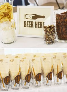 Beer Tasting Party Pieces by JacksMaster on Etsy, $183.00