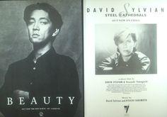 Promotion Foto Ryuchi Sakamoto Beauty David Sylvian Steel Cathedrals
