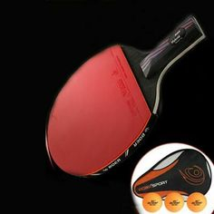 CACUXAK Carbon Performance-Level Table Tennis Racket with Carbon Technology