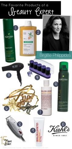 Celeb hairstylist's products
