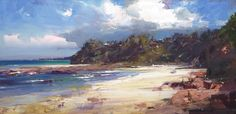 Ken Knight is an Australian plein air artist producing landscape paintings outside in oil in an Impressionist manner Great Paintings, Seascape Paintings, Landscape Paintings, Landscapes, Australian Painting, Australian Artists, Watercolor Landscape, Abstract Landscape, Expressive Art