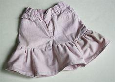 Transforma un jean de niñas en una linda falda