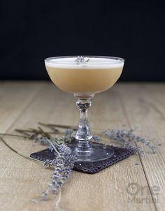 Lady Jane: earl grey infused gin, lavender simple syrup, lemon juice, egg white