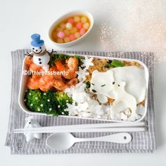Polar Bear  Winter Bento