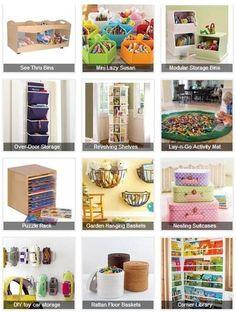 12 Brilliant Toy Organization Ideas