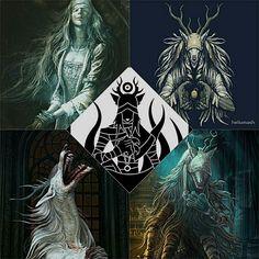 BloodBorne,Dark Souls,фэндомы,BB персонажи,BB art,DS art ...
