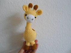 Örgü Oyuncak Zürafa Yapımı - Hobi Fikirleri Yaratıcı El İşi Örnekleri