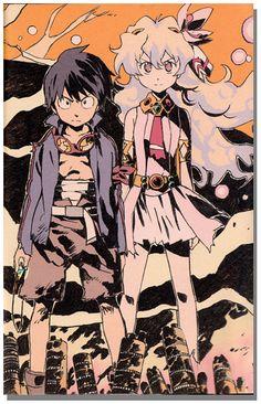 Gurren Lagann - Final Drill Art Book - Anime Books