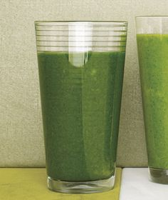 Collard Greens Smoothie With Mango and Lime from realsimple.com #myplate #vegetables #fruit