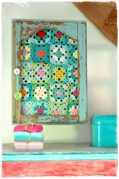 crochet cabinet