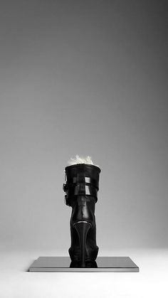 Shearling Lined Biker Boots | Burberry