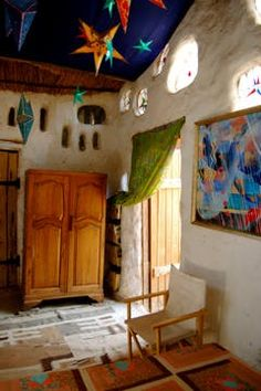 House Tour: Marcella's Miracle Cob House — Cullinan, South Africa