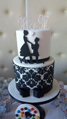 Order your Wedding Cake from My City Cake (Montreal) - Torte hochzeit - Engagement Wedding Cake Maker, Wedding Cakes, Birthday Cake For Boyfriend, Cake Structure, City Cake, Valentine Cake, Engagement Cakes, Cake Makers, Pastry Cake
