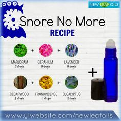 Young Living Essential Oils:  Snoring