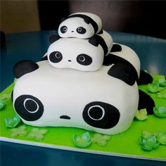 panda cute cake ideas Cute Cake Ideas