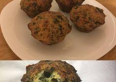 Αλμυρά μάφινς με σπανάκι και τυριά Muffin, Cooking, Breakfast, Food, Kitchen, Morning Coffee, Essen, Muffins, Meals