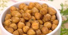 Are you ready for one of the tastiest, healthiest snacks you've ever seen? Then take another look at the humble chickpea!