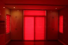 Basic, Red Light Filter, Fabric Strips, Blinds For Windows, Roller Blinds, Layers Design, Red, Home Decor, Shades For Windows, Decoration Home