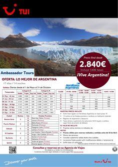 Oferta Lo Mejor de Argentina 17 días/ 14 noches. Precio final desde 2.840 ultimo minuto - http://zocotours.com/oferta-lo-mejor-de-argentina-17-dias-14-noches-precio-final-desde-2-840-ultimo-minuto-2/