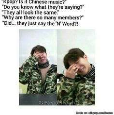 The N word Omg! Lol!  well its spelled as 'naega' not 'nigga' so u can just sthu!