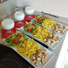 Best Ideas For Recipes Healthy Shrimp Parties Healthy Meal Prep, Healthy Recipes, Food Platters, Turkish Recipes, Food Presentation, I Foods, Love Food, Chicken Recipes, Food And Drink