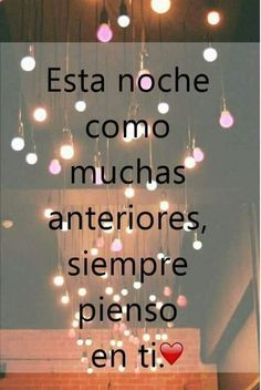 Pero es inútil, tu no piensas en mi Sweet Quotes, My True Love, Live Love, I Love You, Amor Quotes, Wife Quotes, Proverbs Quotes, Romantic Pictures, Good Night Quotes
