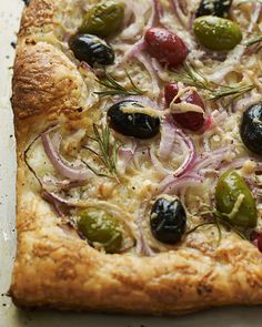 Red Onion & Olive Tart | Sweet Paul Magazine