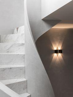 Open House | Alexandra Penthouse by Dita Studio Architecture Details, Interior Architecture, Interior Design, Parquetry Floor, Open Stairs, Suburban House, Studio Kitchen, Elegant Kitchens, Stair Railing