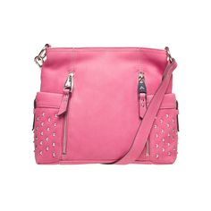 3cdf379b543f Aimee Kestenberg Cindy Leather Convertible Crossbody Pink camellia up to  70% off