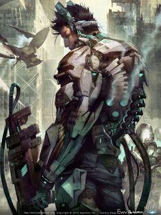 Sci-fi Art: Irvine the Coward - 2D Digital, Concept art, Sci-fiCoolvibe – Digital Art