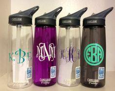 LOWEST PRICE Monogramed Camelbak Water Bottle