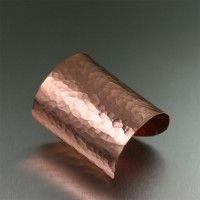 amazing handmade copper jewelry / Copper Bracelets / Hammered Copper Cuff Bracelet. Undeniably alluring   http://www.ilovecopperjewelry.com/hammered-copper-cuff-bracelet.html  $125.00