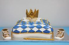 Royal Prince Pillow Boy's Birthday Cake