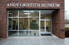 Andy Griffith Museum in Mount Airy, North Carolina