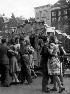 Dancing in Amsterdam 26th of June 1945