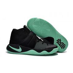 f364ac40b9d3 Nike Kyrie 2 Black Blue Basketball Shoes