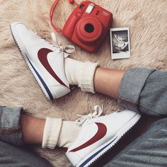 promo code 34427 a1585 Nike Cortez ❤ 90 s retro Fashion Nike Retro, Retro Nike Shoes, 70s Outfits