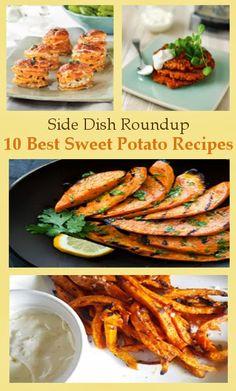 Sweet Potato Side Dish Recipe Roundup { thelovebugsblog.blogspot.com }