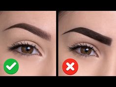 10 COMMON EYEBROW MISTAKES YOU COULD BE MAKING | Do's and Dont's - YouTube