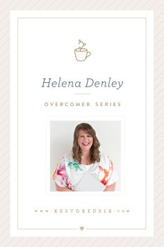 We, the team here at Restored 316, are dreamers. We are doers. We are creative thinkers and get to workers. We are overcomer's. We are launching a NEW blog series to feature YOU… Our fellow overcomer's! We know you have a story to tell and your story just might impact someone else in a big... Read More