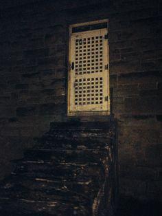 Weston insane asylum  old door