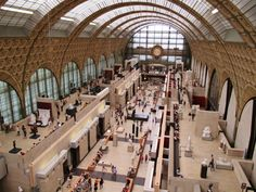 31.07.13 Musée d'Orsay, old railway station adaptive reused as a museum, love it. #jiaxtravelling