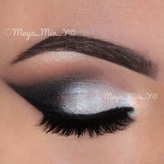 This is more of a holiday type look, but again seen a tutorial and doable.