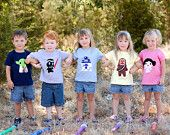 HAWAII COLLECTION - Aloha from Rainbow-Color Whale T-Shirt. $24,00, via Etsy.