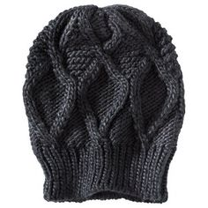 Mossimo® Textured Beanie Hat - Black : Target Mobile