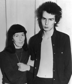 Sid Vicous & her mother Anne Beverley