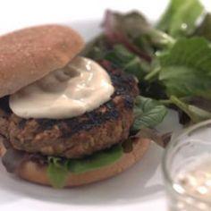 Hamburger Recipes : Asian Turkey Burgers