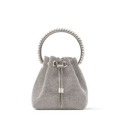 Satin, Black Weave, Silver Bags, Jimmy Choo Shoes, Evening Bags, Things To Buy, Bucket Bag, Purses And Bags, Elegant