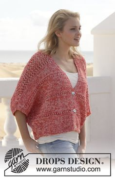 Women - Free knitting patterns and crochet patterns by DROPS Design Knitting Patterns Free, Knit Patterns, Free Knitting, Free Pattern, Drops Design, Knit Vest Pattern, Knit Crochet, Crochet Woman, Make Your Own Clothes